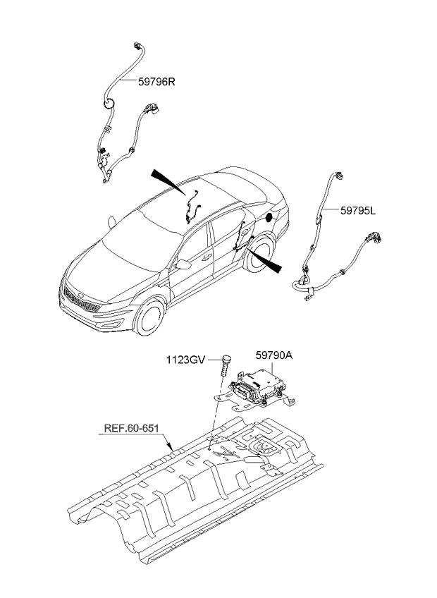 система стояночного тормоза