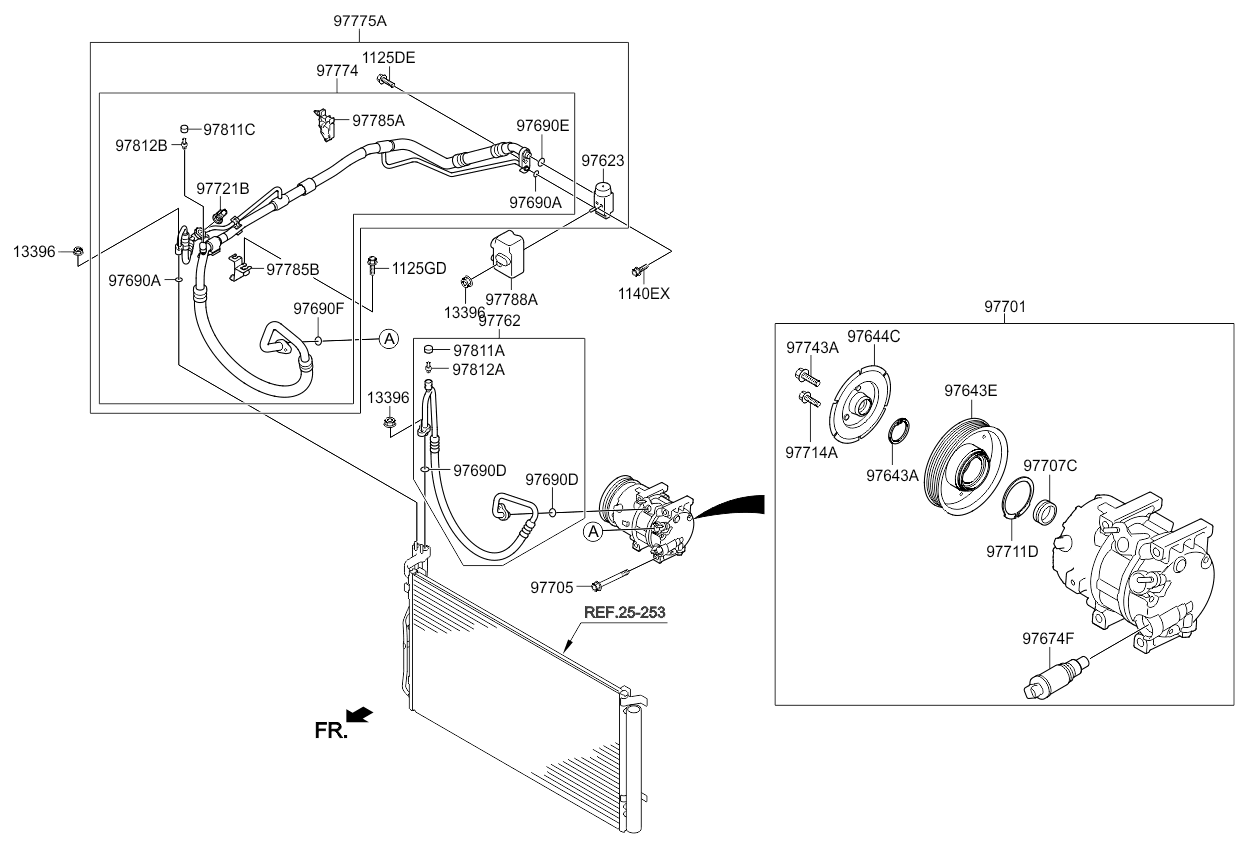 Трубопровод хладагента кондиционера